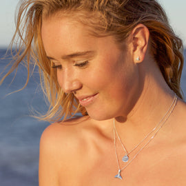Ocean child pendant and chain