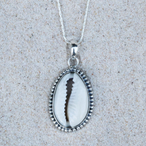 Cowrie Bubble Necklace