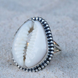 Gypsea Cowrie Ring