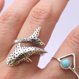 Whale shark ring
