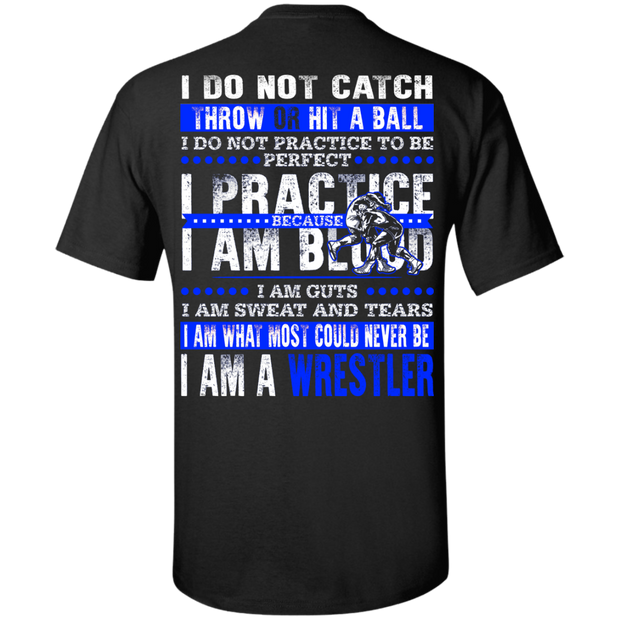 Do not catch ball Wrestler
