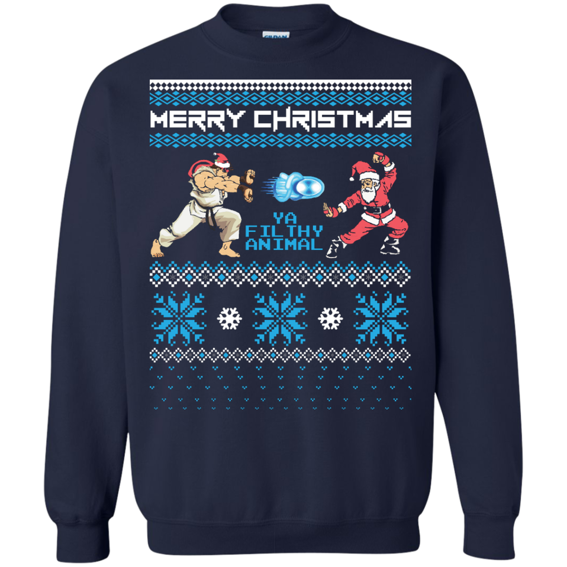 Haduken Ryu Ugly Sweater