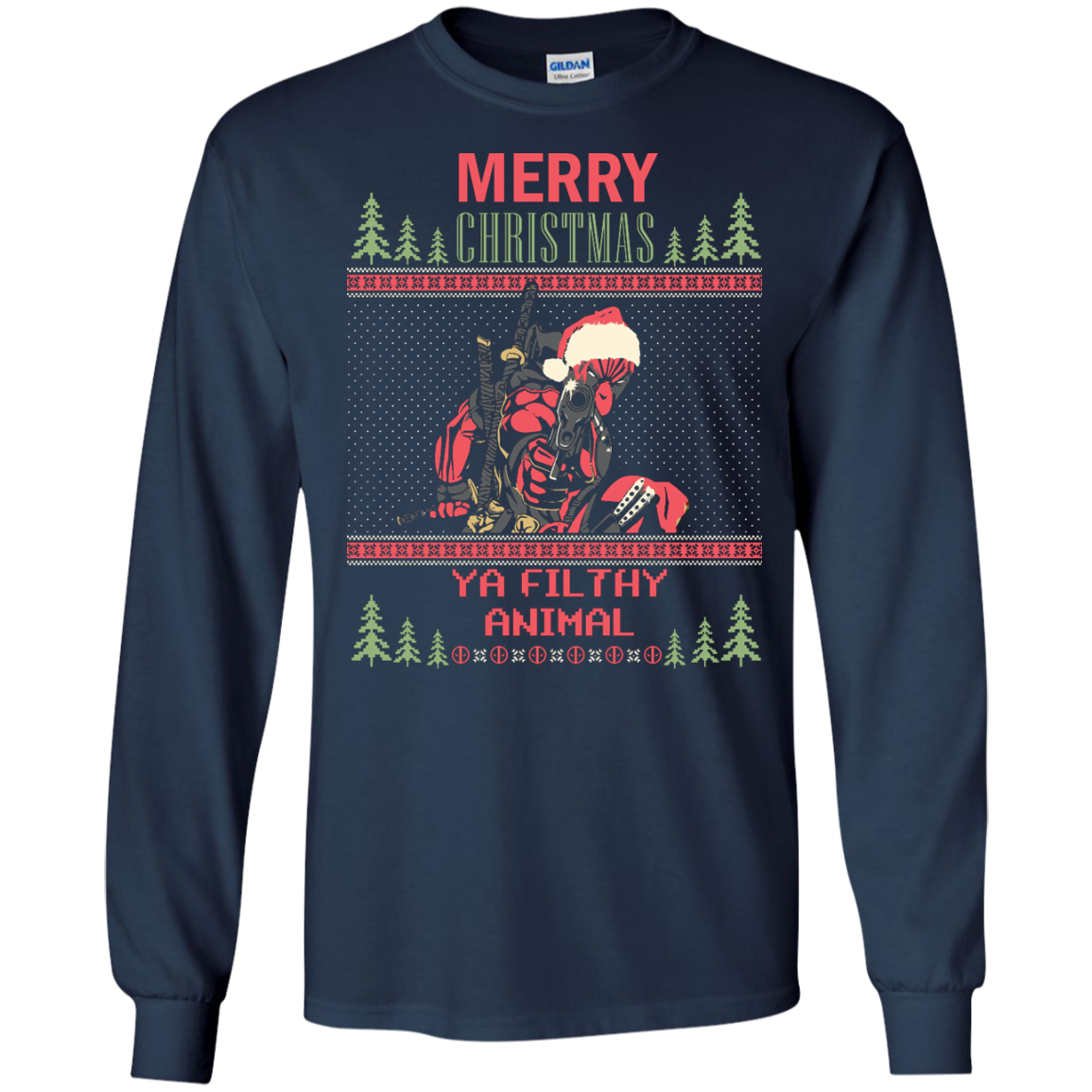 Deadpool Ugly Sweater