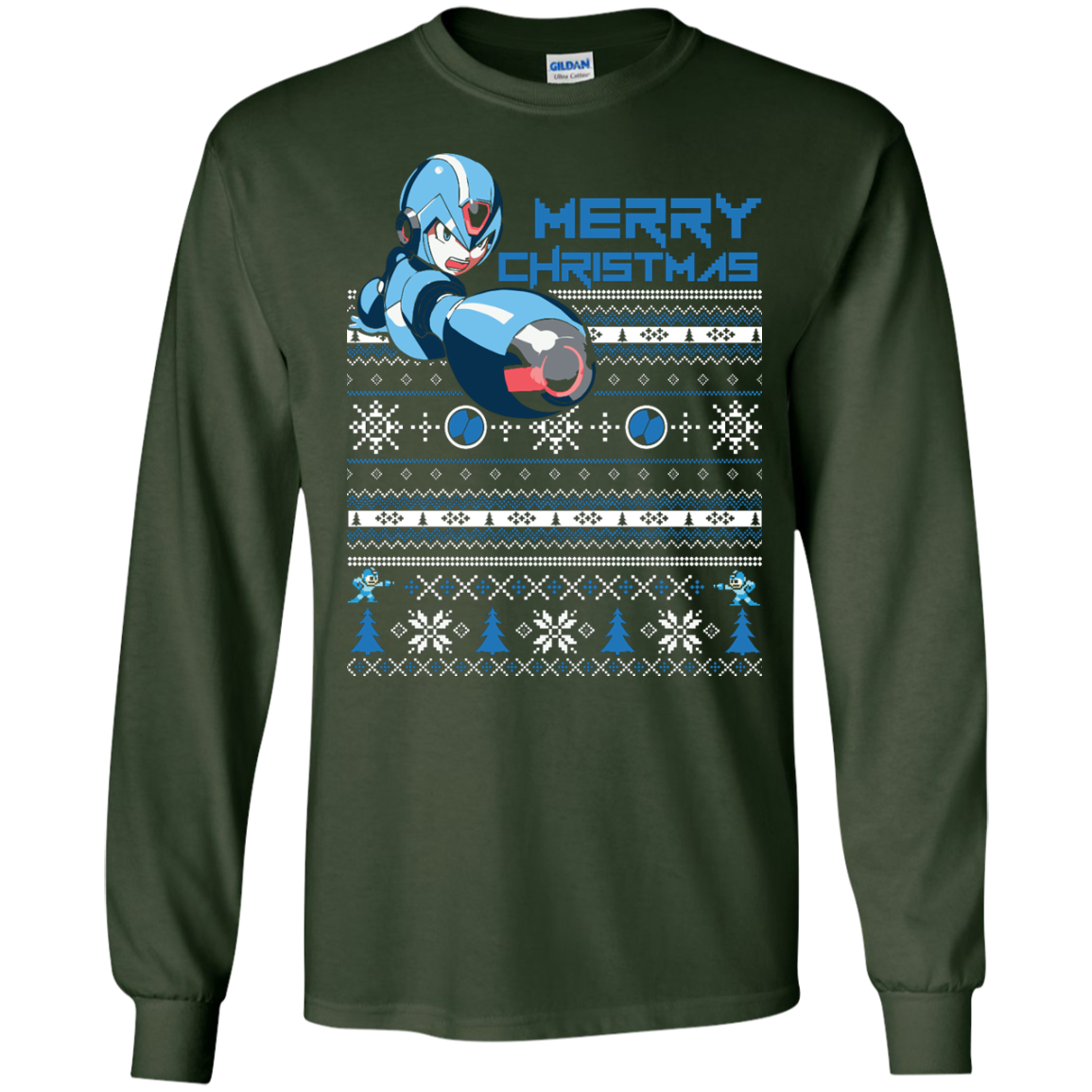 New Megaman Ugly Sweater