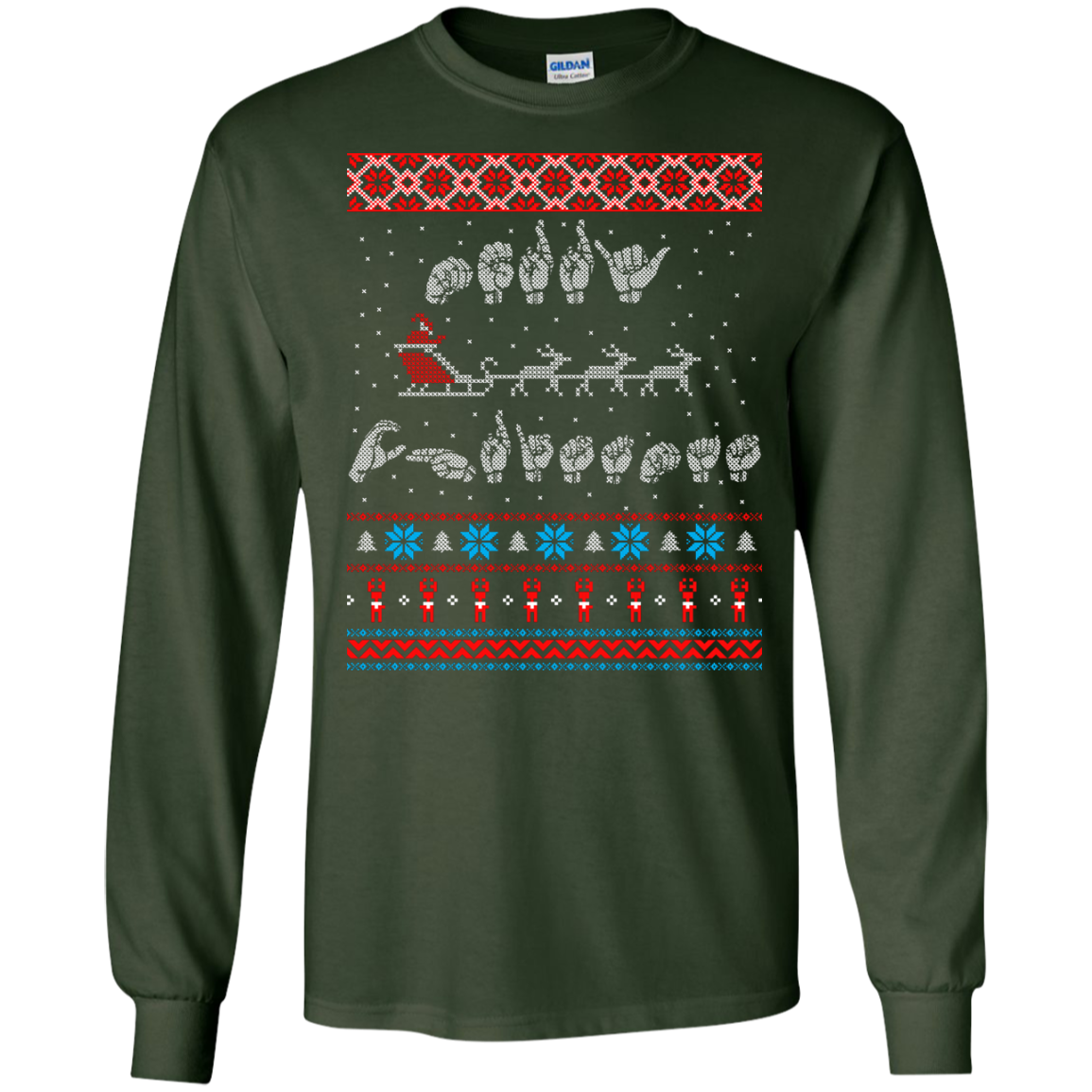 Sign Language Ugly Sweater