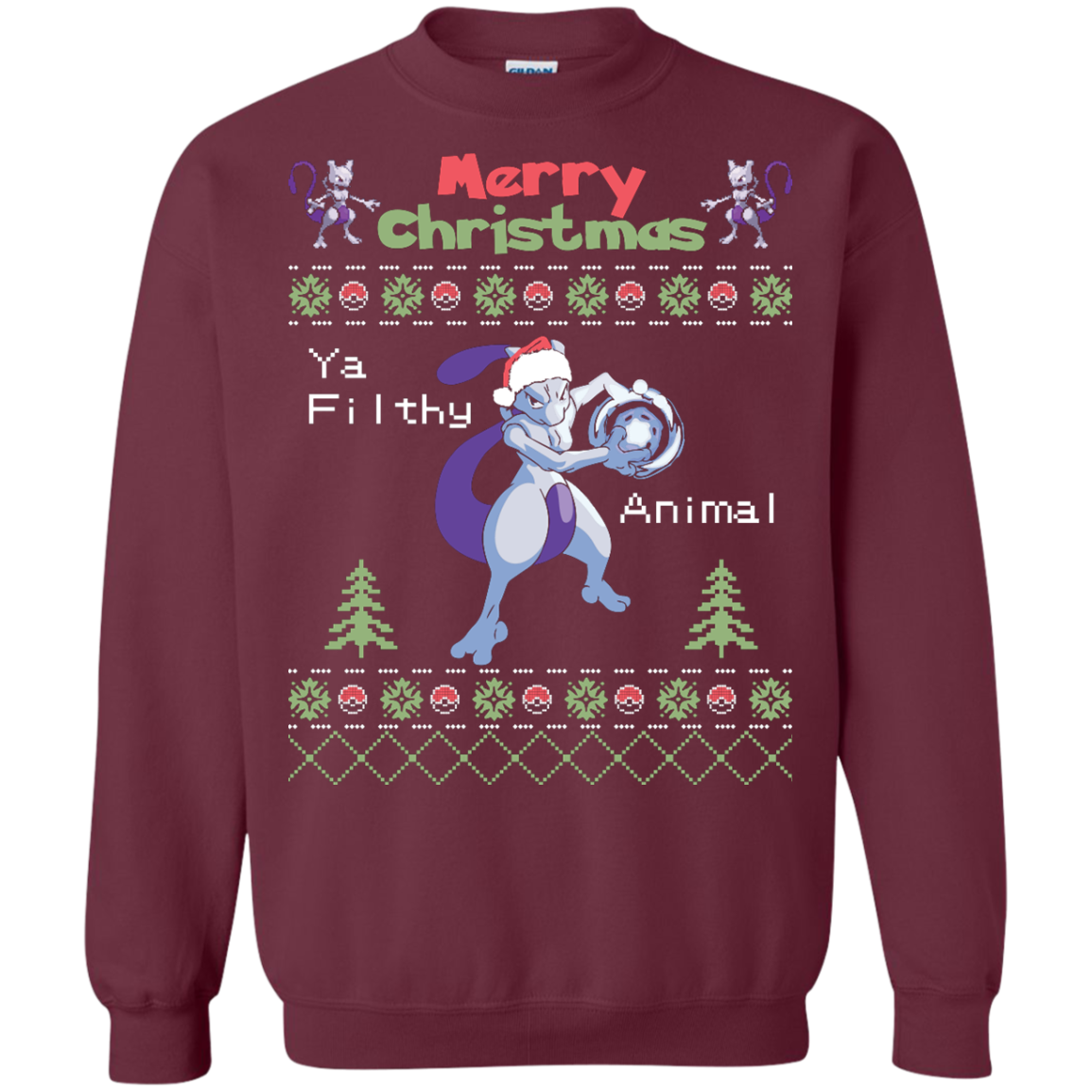 MewTwo Ugly Sweater