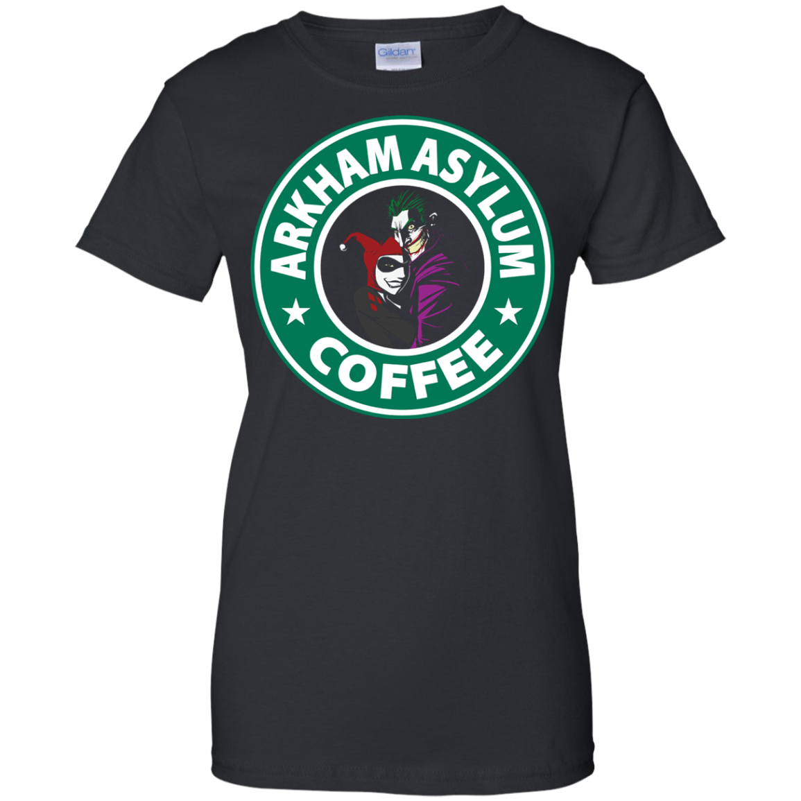 Arkham Asylum Coffee Shirt