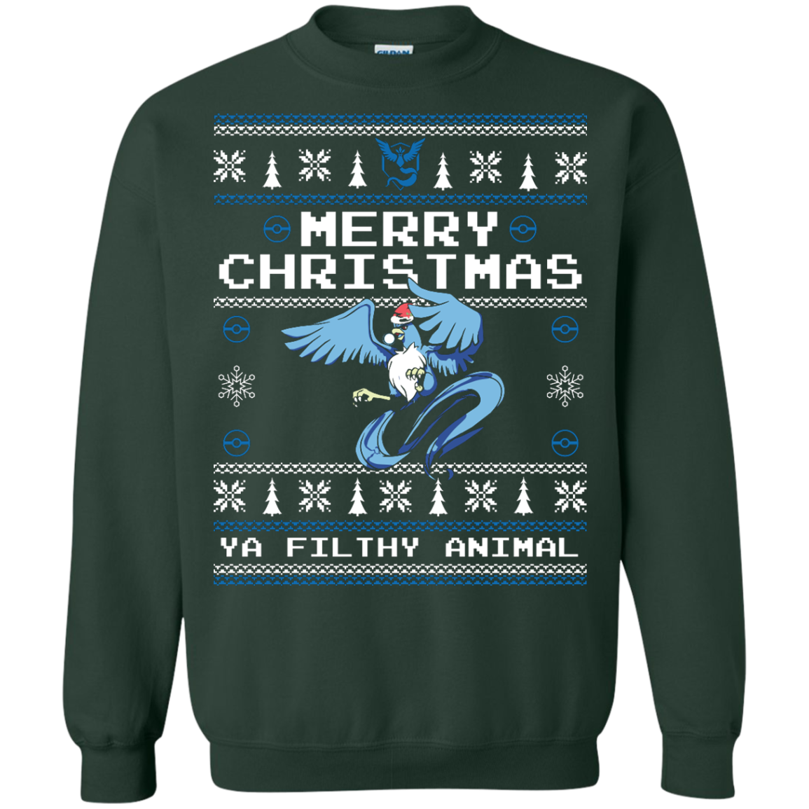 Team Mystic Ugly Sweater