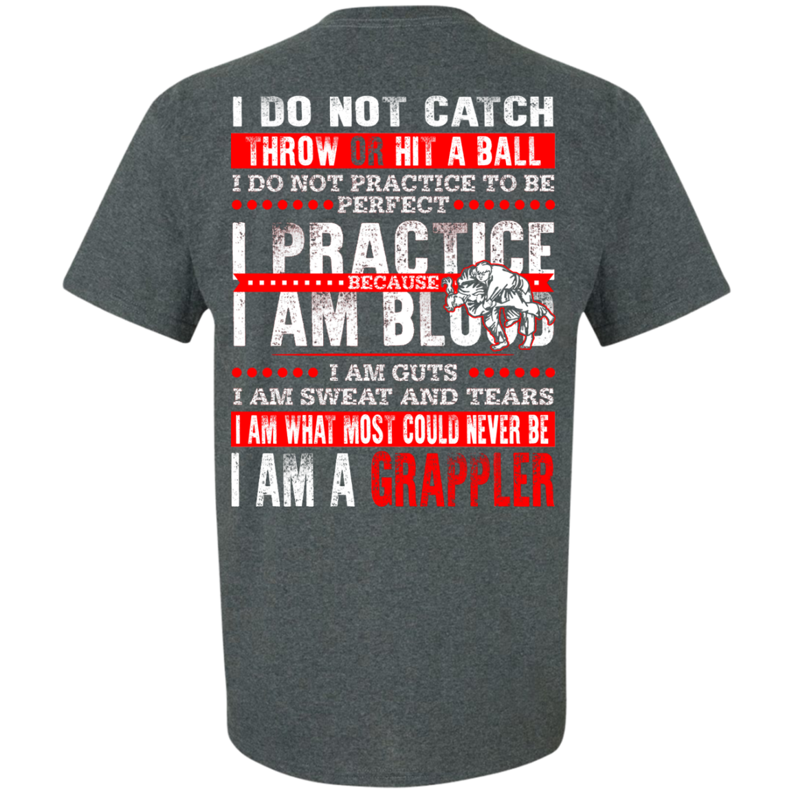 Do not catch ball Grappler