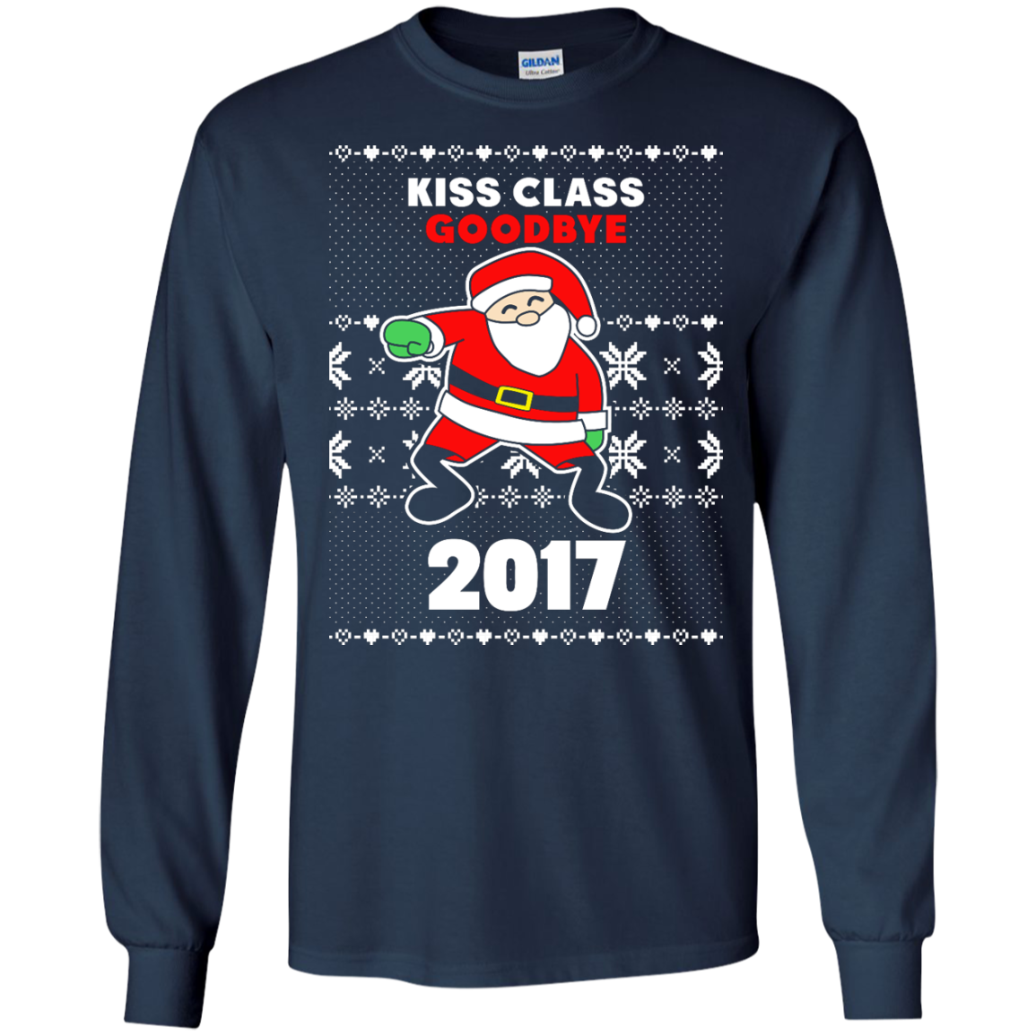 Santa Whipping 2017 Sweater