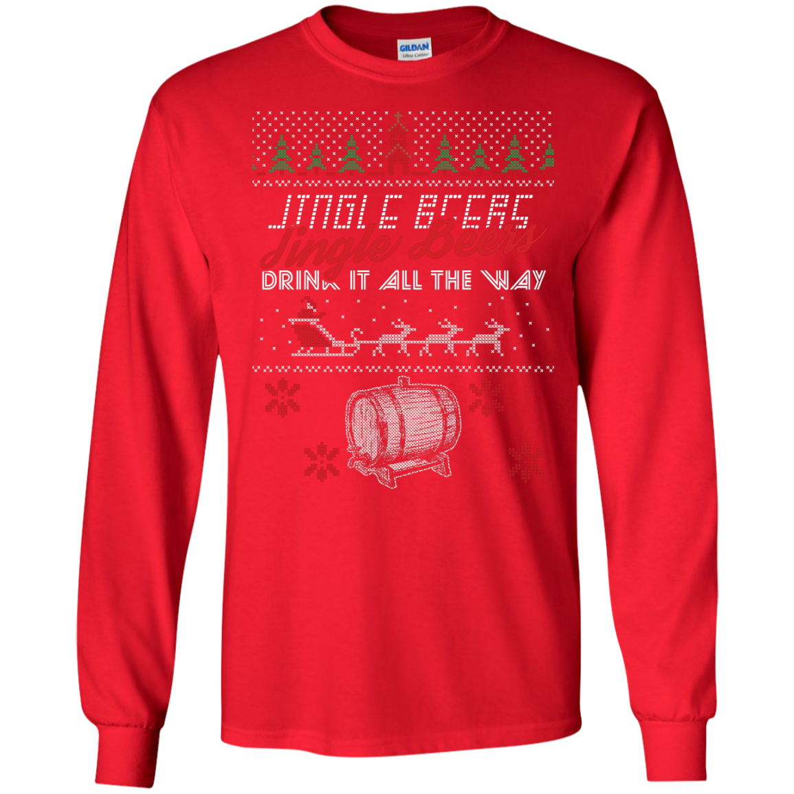 Jingle Beers Ugly Sweater