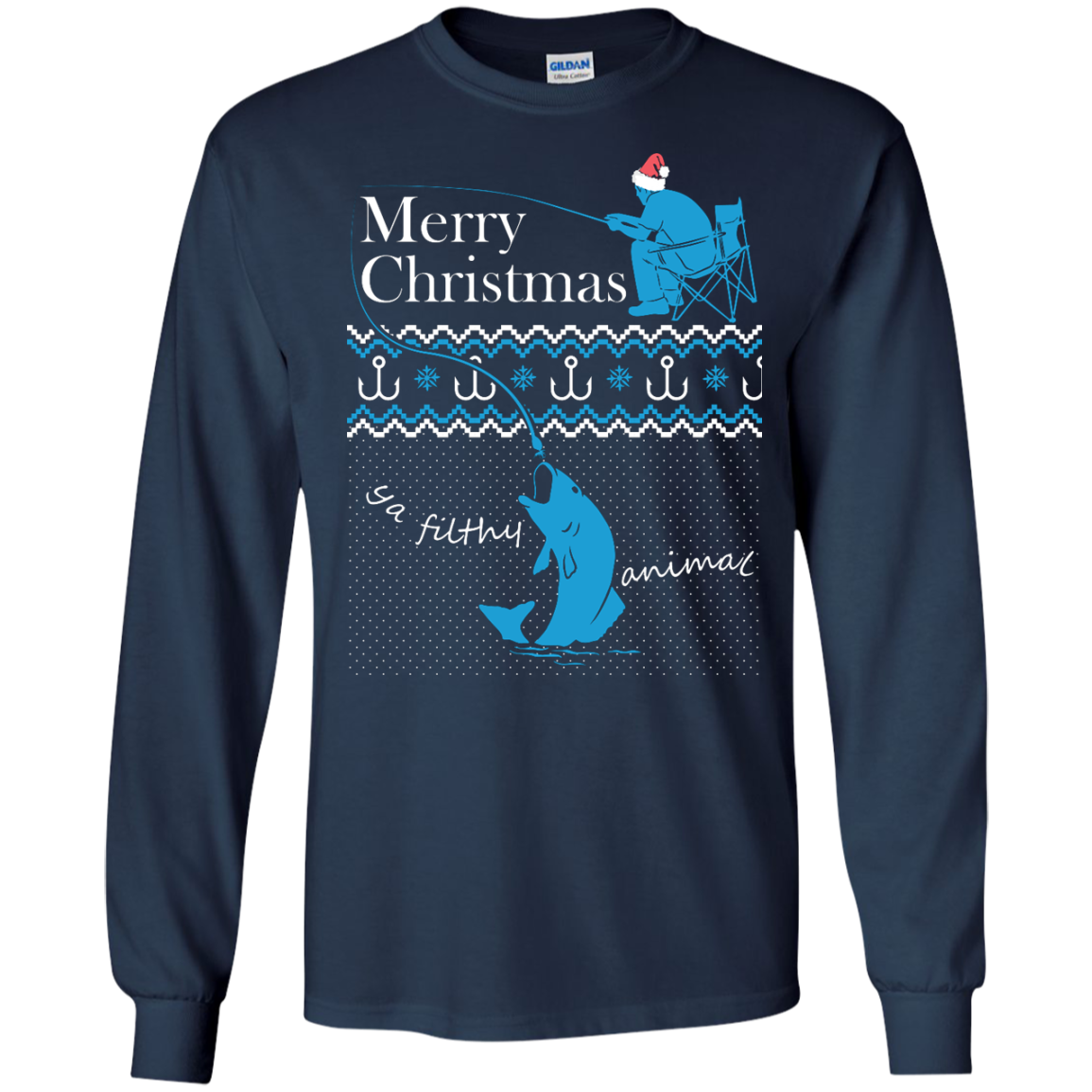 Fishing Ugly Sweater