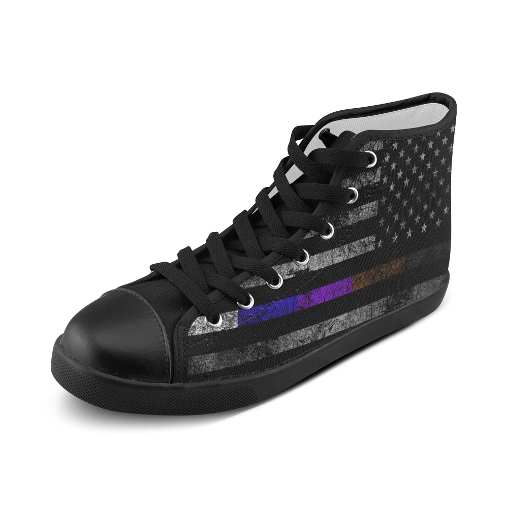 Mens BJJ USA Flag Shoe
