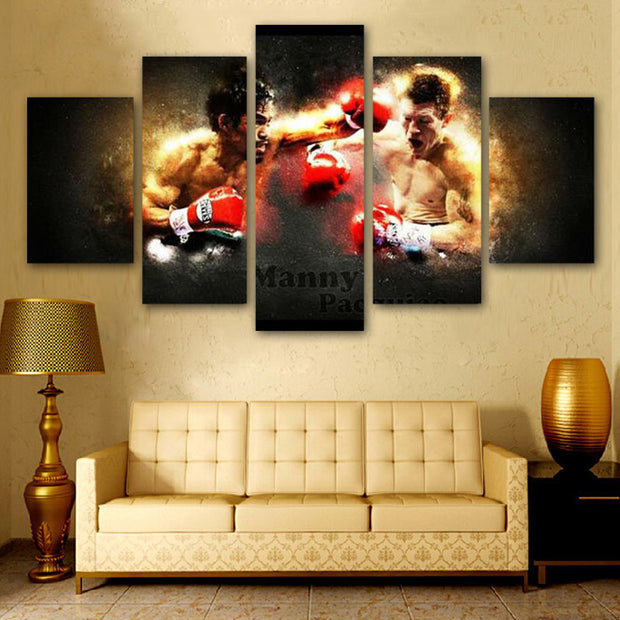 Pacquiao vs Hatton Poster