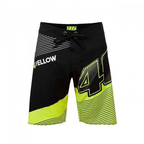 "The V. Rossi ""VALE YELLOW 46"" Beach Shorts"