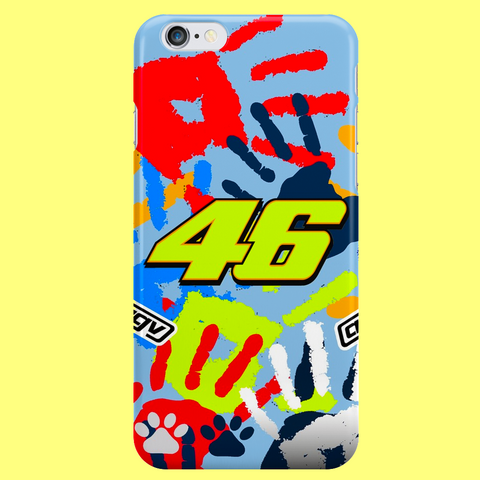 "46 ""THE PEOPLE'S CHAMPION"" iPhone 4, 4S, 5, 5S, 5C, 6, 6S, 6 Plus, 6S Plus, 7, 7 Plus Custom Case"