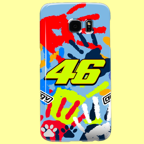 "46 ""THE PEOPLE'S CHAMPION"" Samsung Galaxy S3, S4, S5, S6, S6 Edge, S6 Edge+, S7, S7 Edge, Note 2, Note 3, Note 4, Note 5 Custom Case"