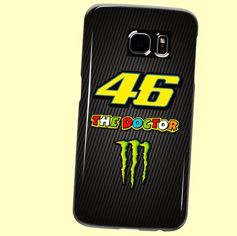 "V. Rossi ""46 THE DOCTOR"" Samsung Galaxy S3, S4, S5, S6, S6 Edge, S6 Edge+, S7, S7 Edge, Note 3, Note 4, Note 5 Custom Case"