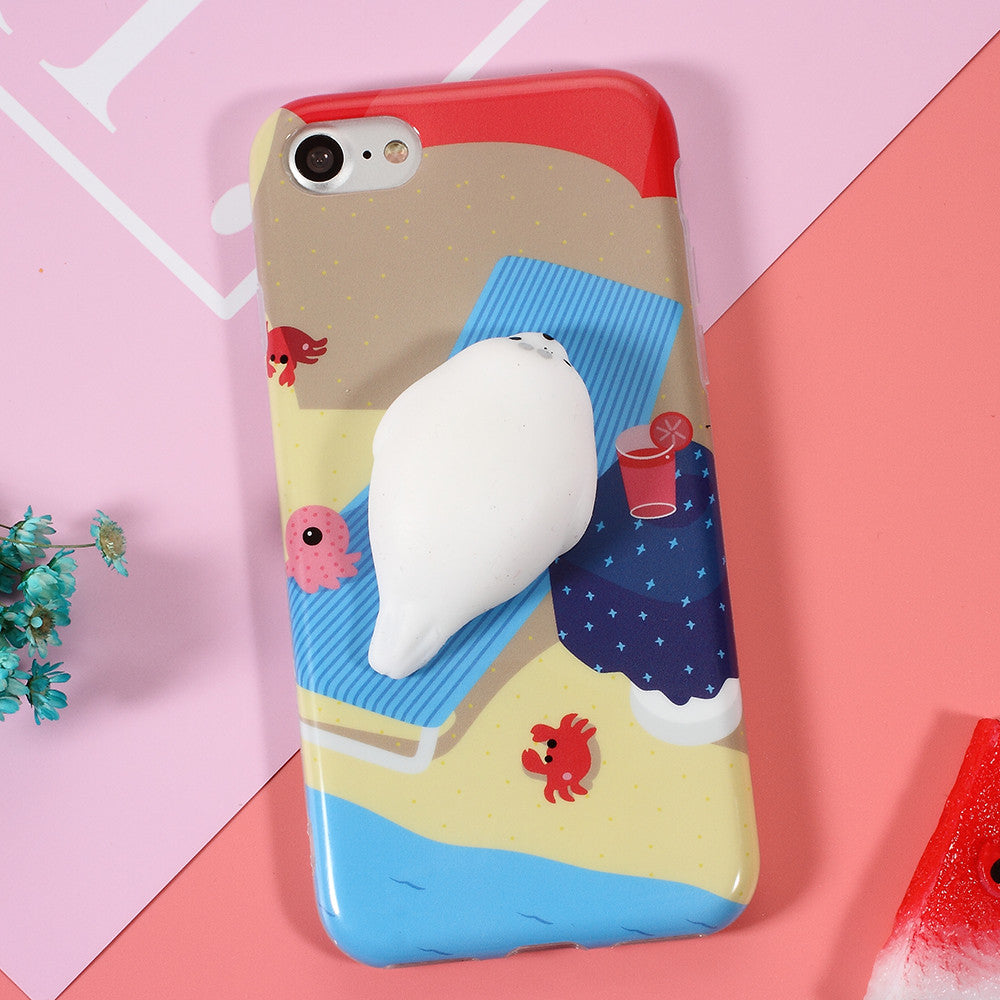 Iphone 6 squishy case -  Squishy Seal Phone Case Iphone 6 6s 6 6s