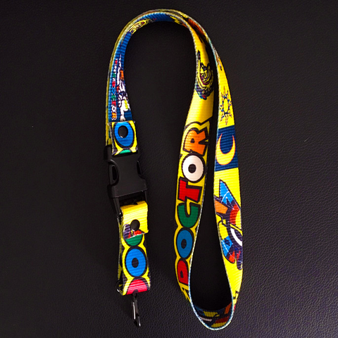 "V. Rossi ""THE DOCTOR"" Cotton Lanyard (for keys or phones)"