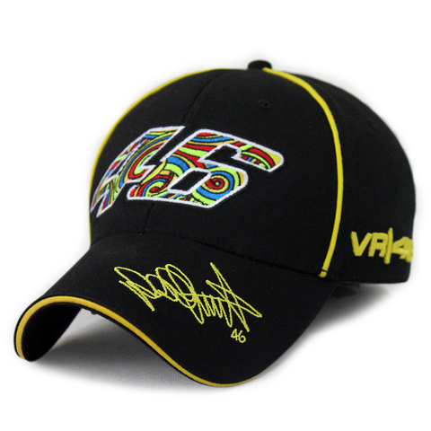 "V. Rossi ""COLORFUL 46"" Fan Art Baseball Cap"