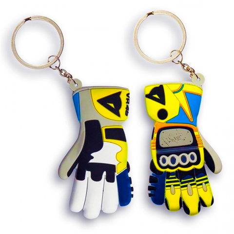 Valentino Rossi RUBBER GLOVE Keyring