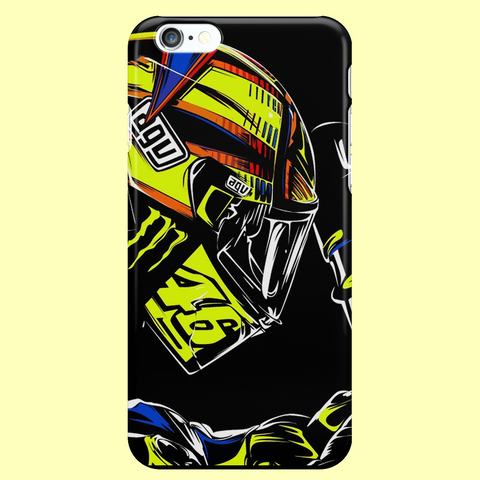"Rossi ""POP ART"" iPhone 4, 4S, 5, 5S, 5C, 6, 6S, 6 Plus, 6S, 7, 7 Plus Custom Case"