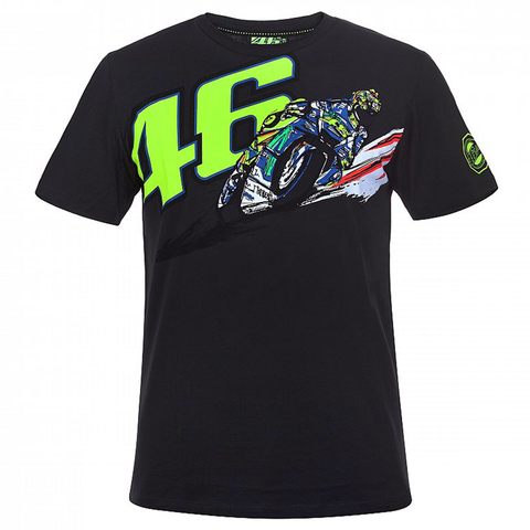"V. Rossi ""MASSIMO 46"" Fan Art T-Shirt"