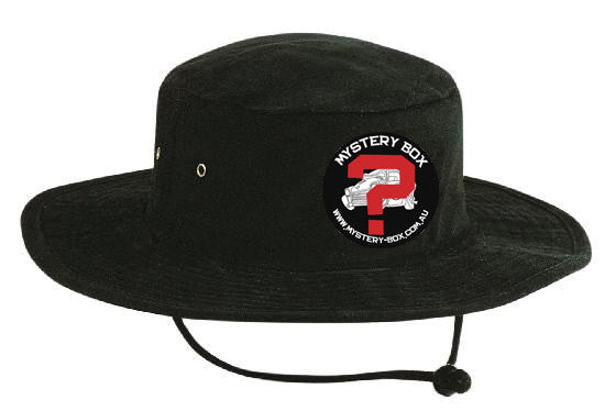 Mystery Box Wide Brim Hat