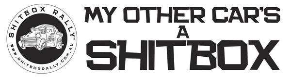 Shitbox Rally Bumper Sticker