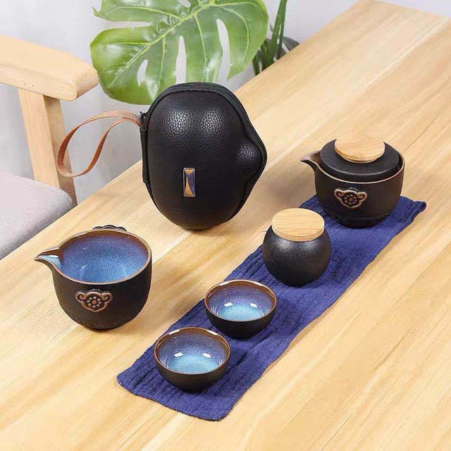 High grade Chinese Tea Travel Tea Set