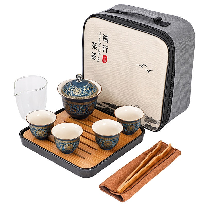 Beginner Gong Fu Tea Set for Four