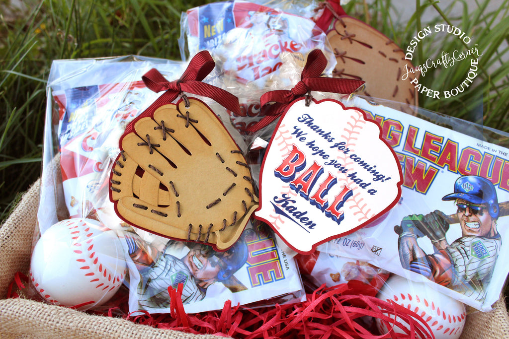 Baseball Birthday Favor Tags
