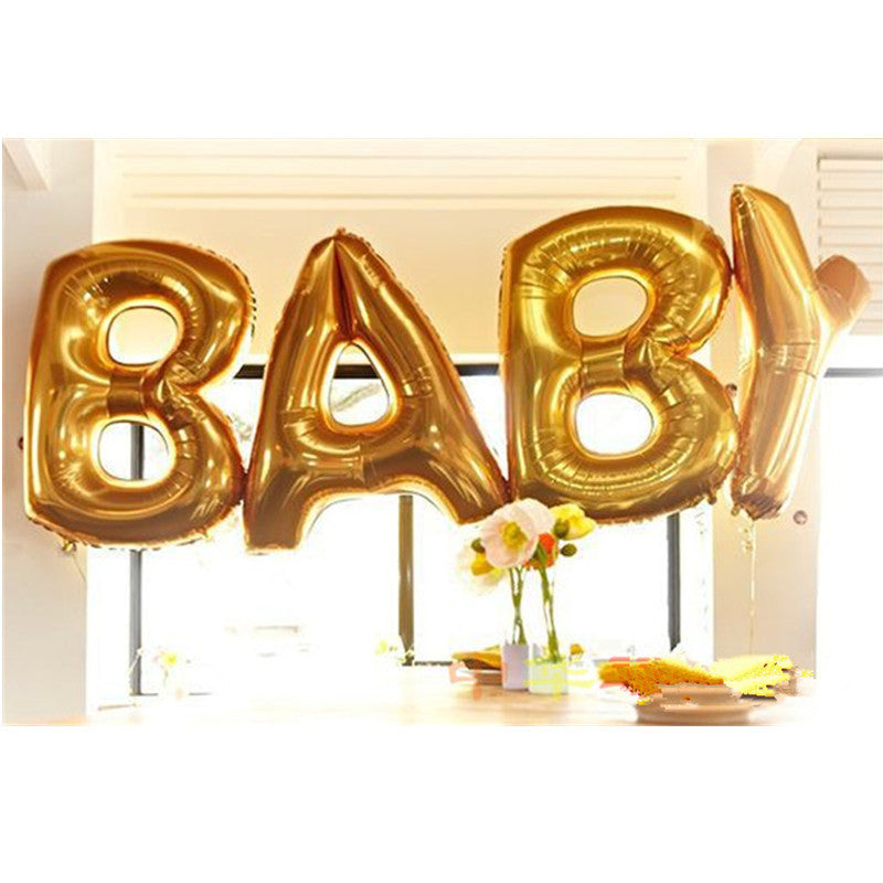 40'' Gold BABY Foil Balloons