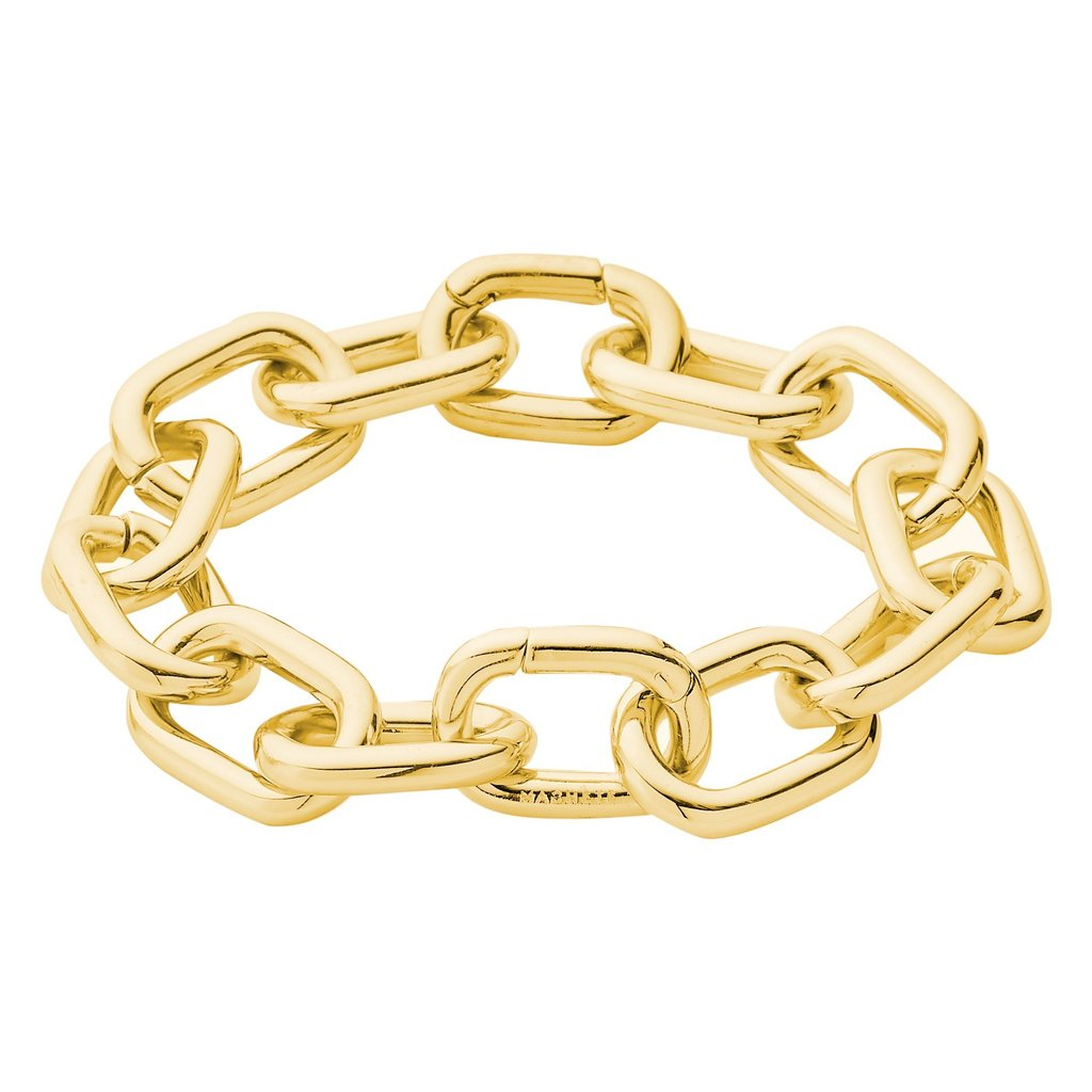 INTERCHANGEABLE LINK BRACELET IN GOLD