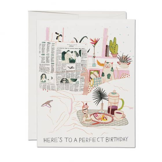 Birthday Perfection Card