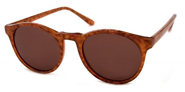 GRAD SCHOOL SUNGLASSES IN LIGHT TORTOISE