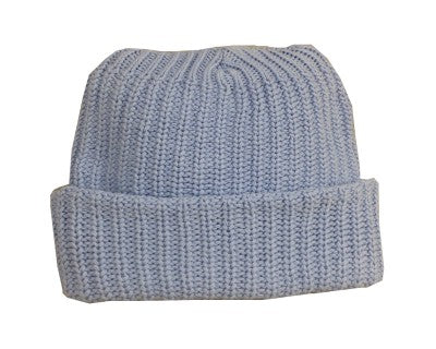 Soft Baby Blue Toque Hat