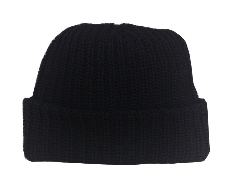 Black Toque Hat