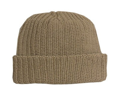 Beige Toque Hat