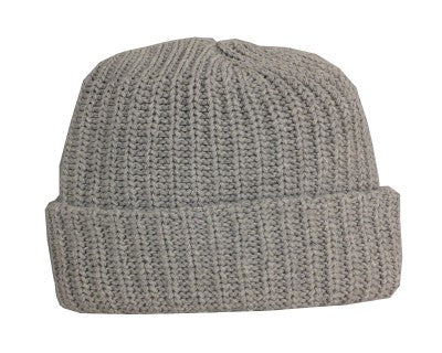 Smoke Grey Toque Hat