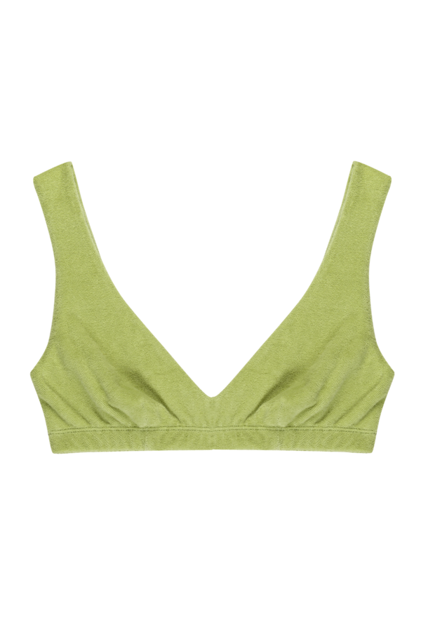 Terry Henley Bralette in Lime