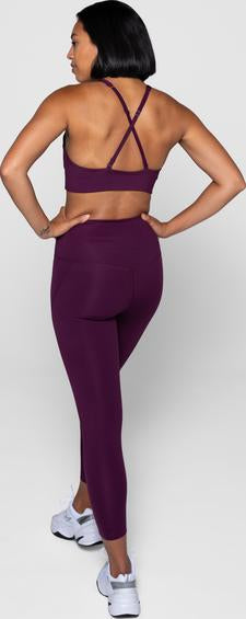 Topanga Bra in Plum