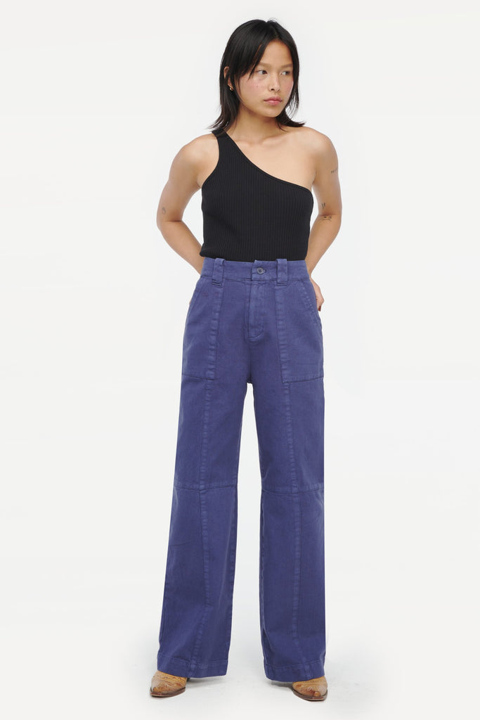 Bryce Trousers in Blueberry