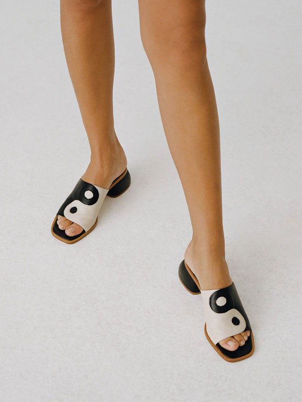 Balance Yin Yang Sandals Shoes