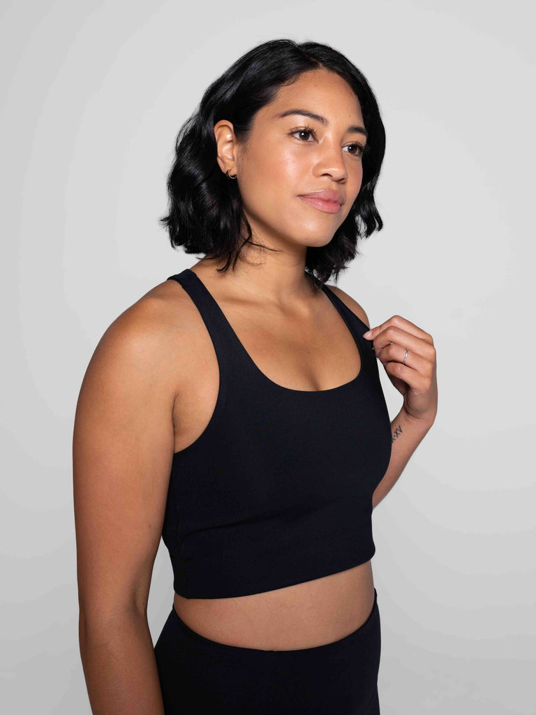 Paloma Sports Bra in Black