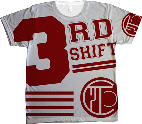 3rd Shift Hockey Tee