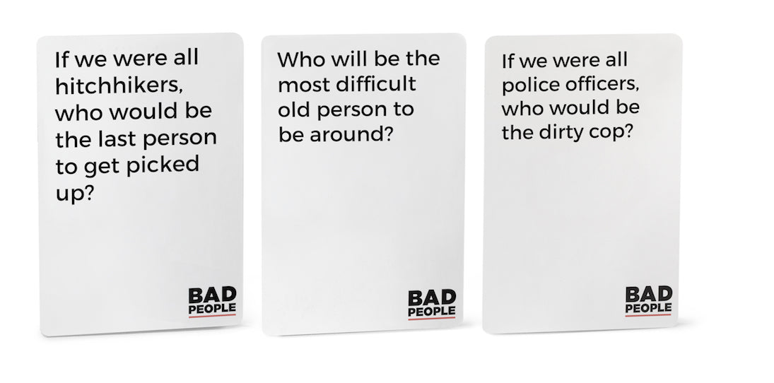 Bad People - The Party Game You Probably Shouldn't Play by ...