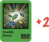 Double Down Card