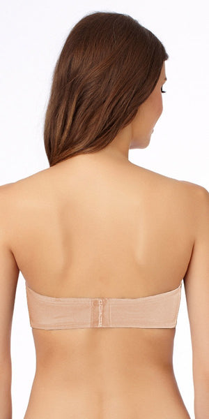 Structural Strapless Bra Nude